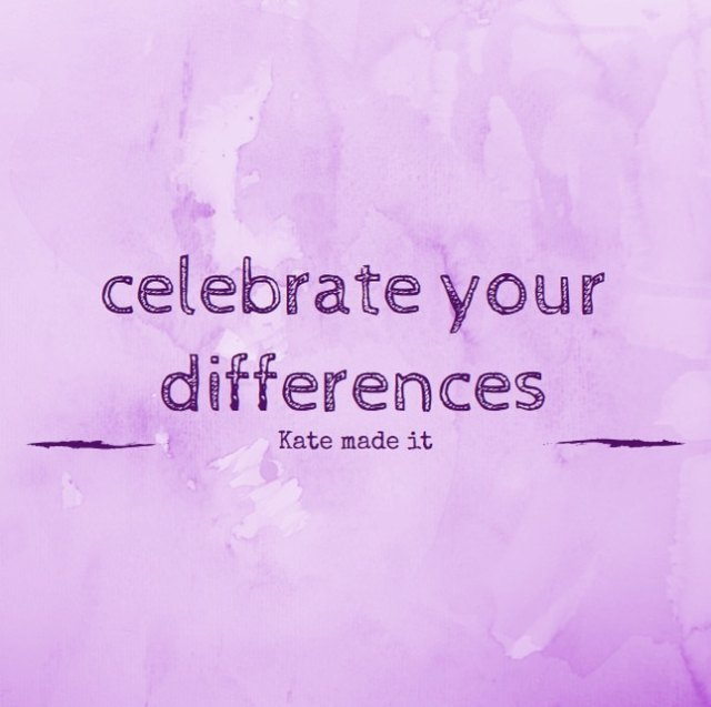 celebrate your differences