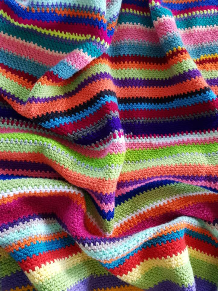 Scrappy Blanket by Kate Made It