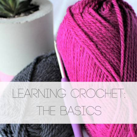 Learning Crochet the basics