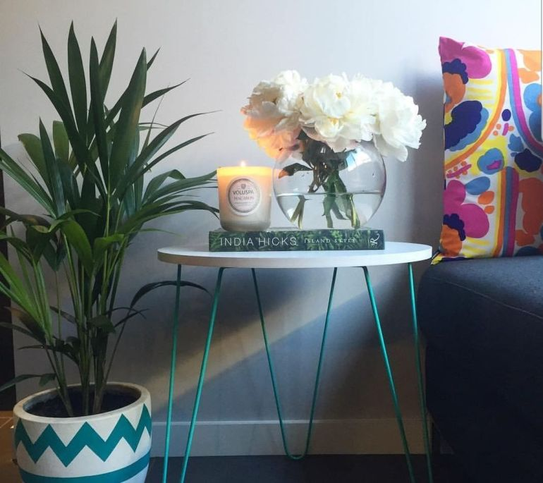 Flowers and plants indoors can really brighten a room. Picture by Serendipity Styling & Design