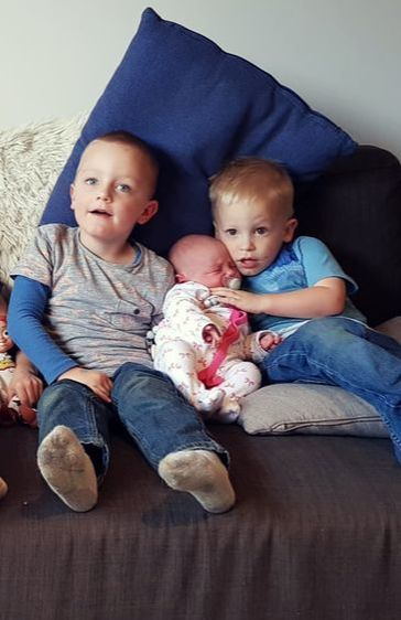 Owen, Ethan and Paige